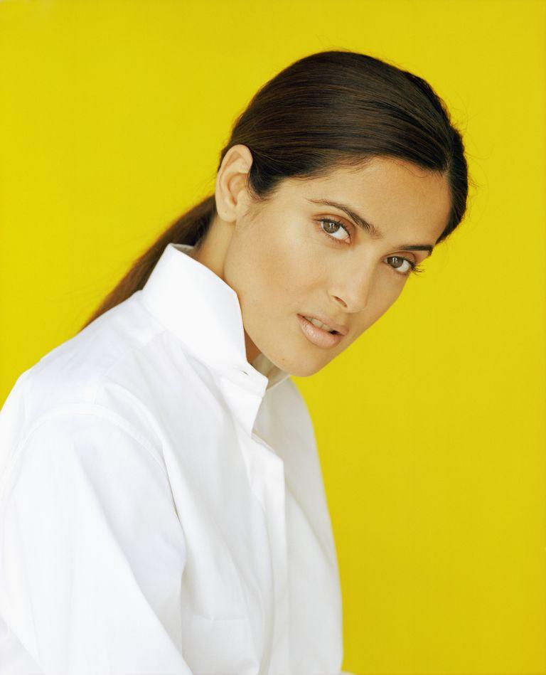 Сальма Хайек в фотосессии Стефани Раштон