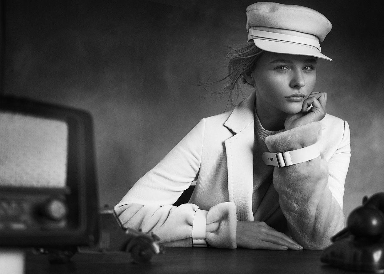 Хлоя Морец в фотосессии Джампаоло Сгура для журнала Marie Claire Spain