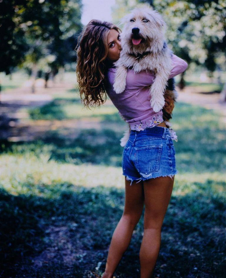 Дженнифер Энистон в фотосессии Марка Селиджера для журнала US Weekly