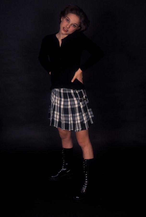 Натали Портман в 1994 году в фотосессии Кена Вайнгарта