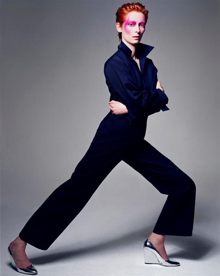 Тильда Суинтон в фотосессии Крейга МакДина
