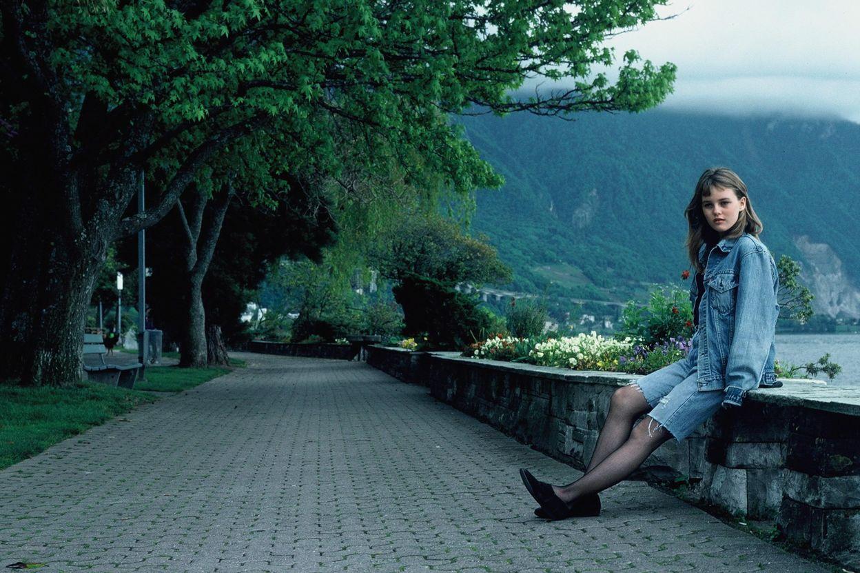 Ванесса Паради в фотосессии Бернара Лелу