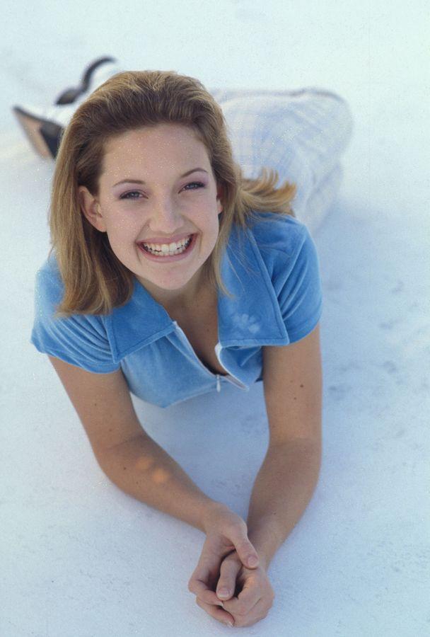 Кейт Хадсон в 1996 году в фотосессии Дэвида Штольца
