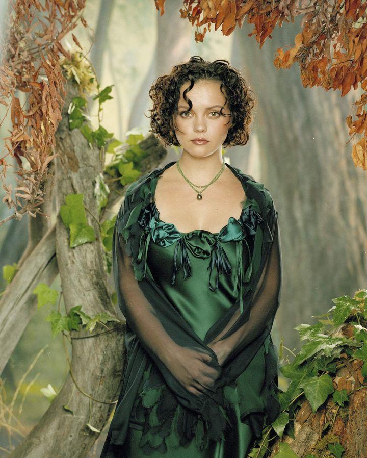 Кристина Риччи в фотосессии Роберта Флейшауэра