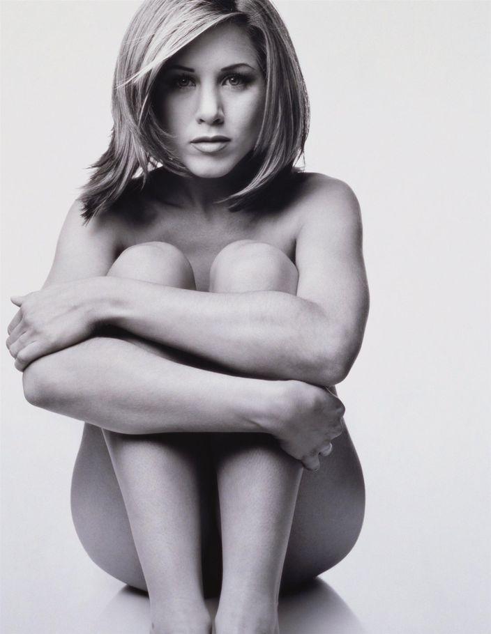 Дженнифер Энистон в 1995 году в фотосессии Марка Селиджера