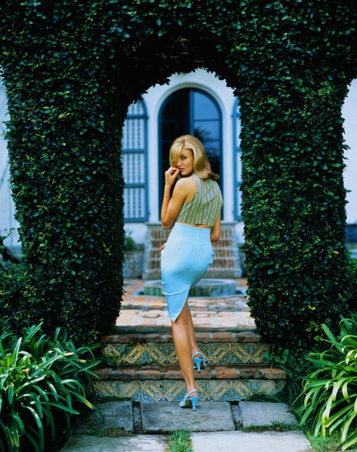 Камерон Диаз в фотосессии для журнала Los Angeles