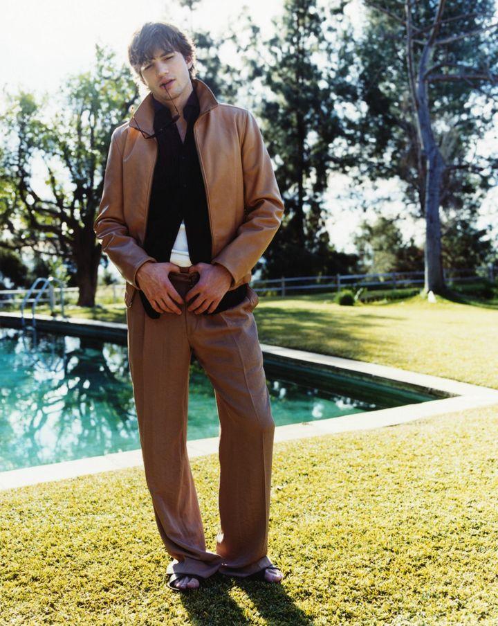 Эштон Катчер в фотосессии для журнала GQ