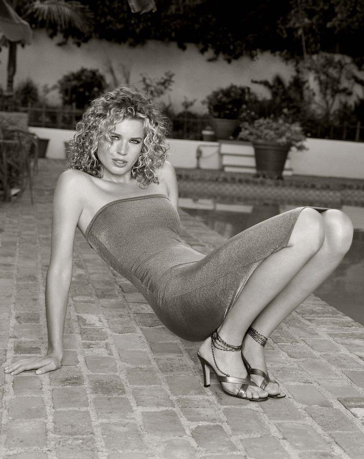 Ребекка Ромейн в фотосессии Барри Голливуда