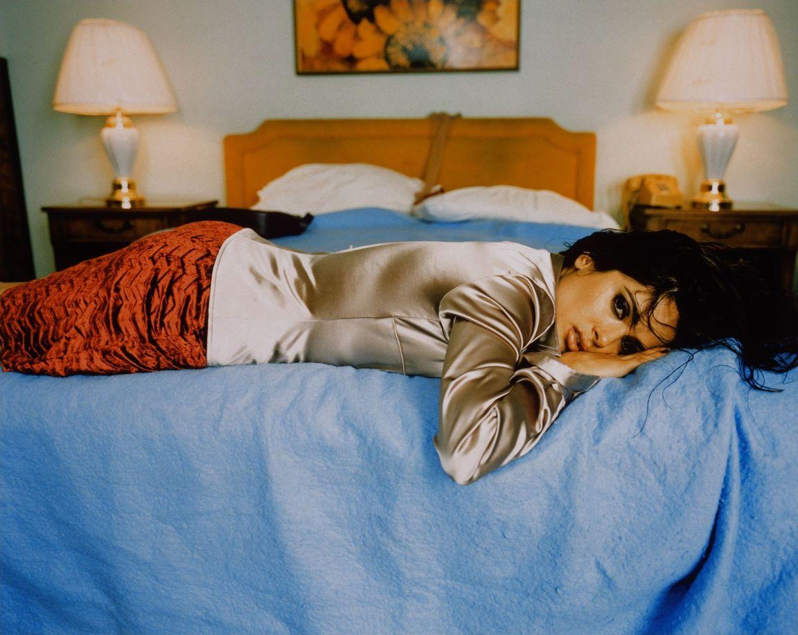 Сальма Хайек в фотосессии Рувена Афанадора для журнала US Weekly