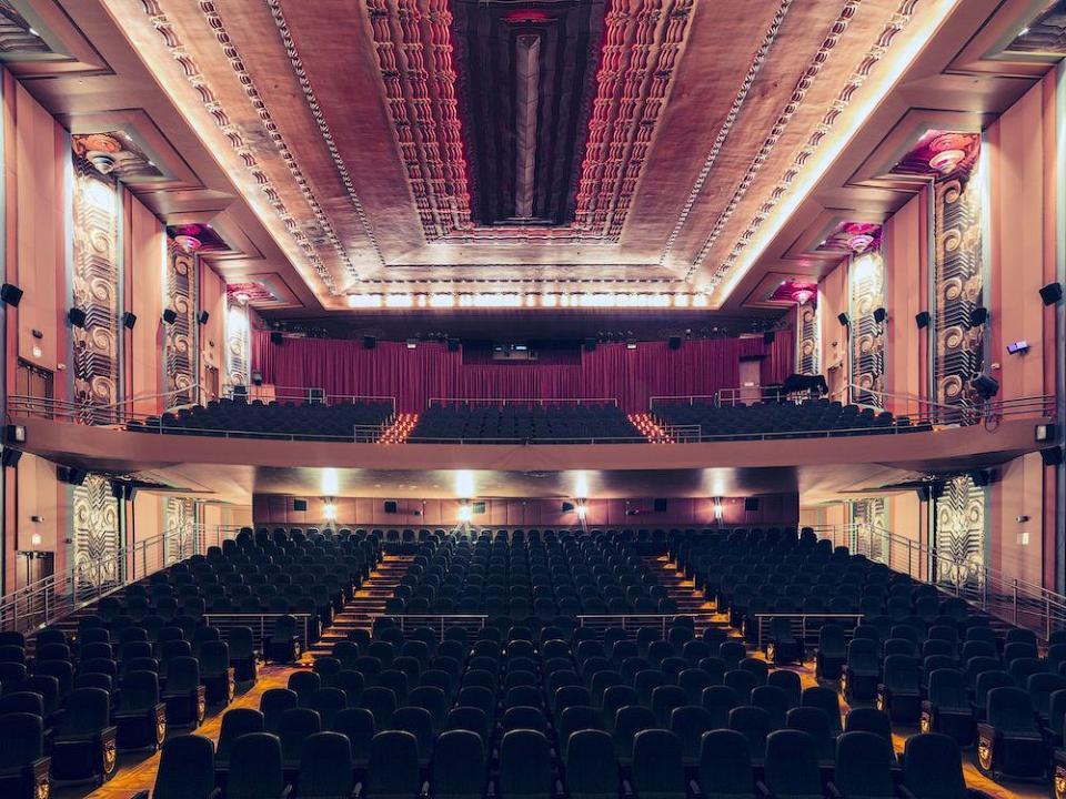 Самые красивые кинотеатры Калифорнии