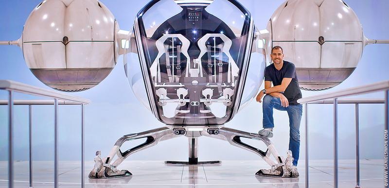 Лучший дизайн футуристической техники от знаменитого художника Дэниела Саймона
