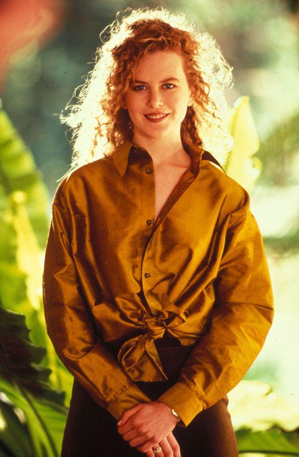 Николь Кидман в 1992 году в фотосессии Грэма Ширера