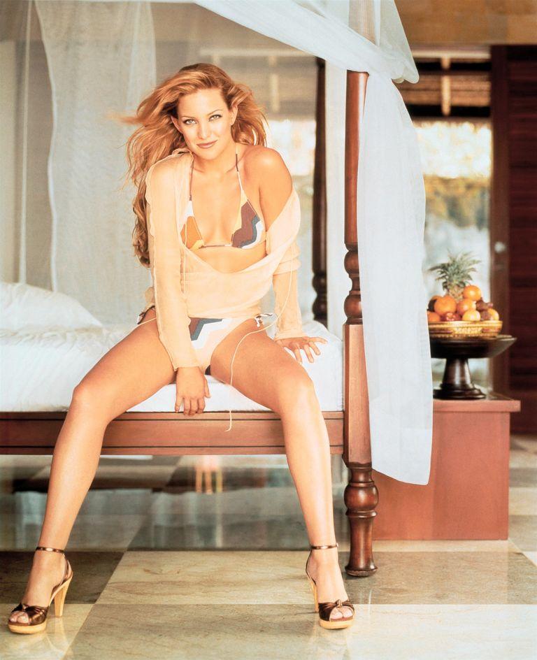 Кейт Хадсон в фотосессии Мэтью Ролстона для журнала InStyle