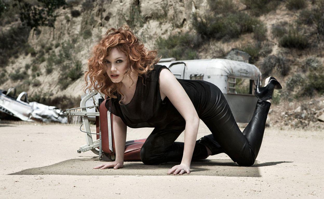 Кристина Хендрикс в фотосессии Шерил Нилдс для журнала Esquire