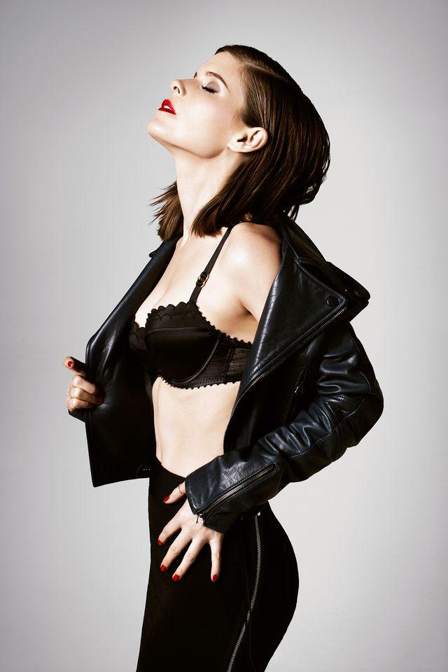 Кейт Мара в фотосессии Брука Нипара для журнала GQ UK