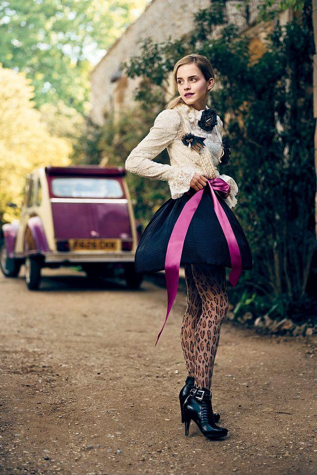 Эмма Уотсон в фотосессии Нормана Джина Роя для журнала Teen Vogue