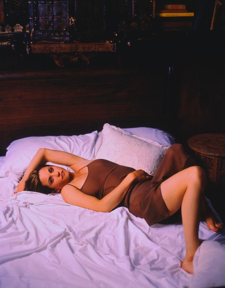 Кортни Кокс в фотосессии Марка Селиджера для журнала US Weekly