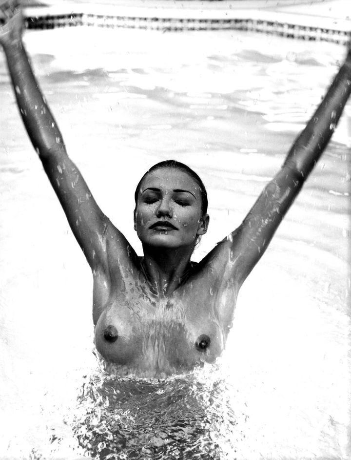Камерон Диаз в фотосессии для журнала Loaded UK