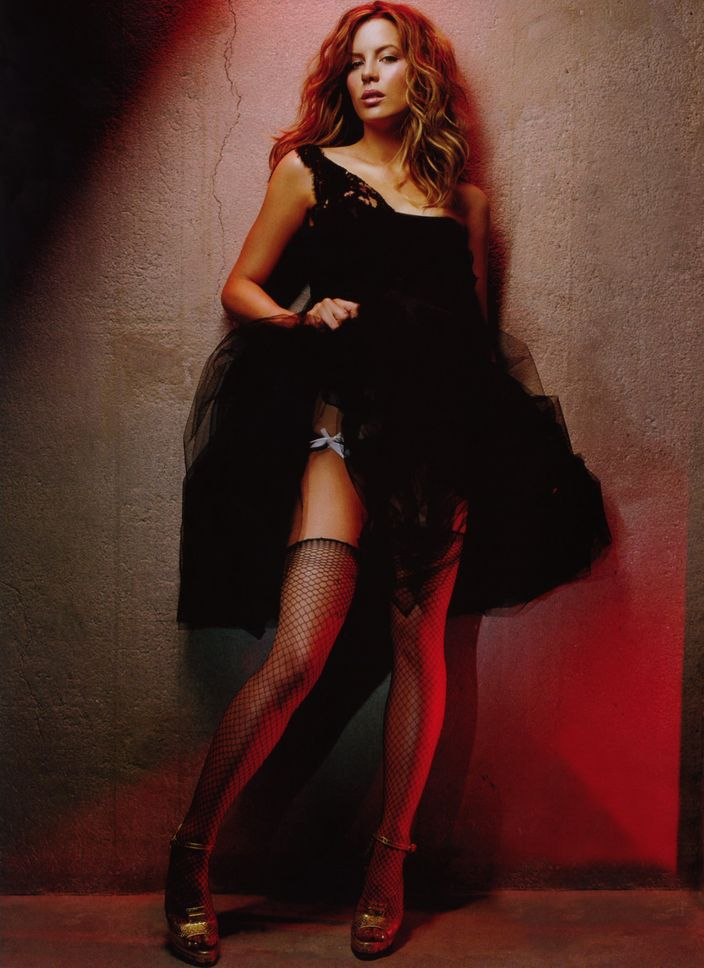 Кейт Бекинсейл в фотосессии Джеймса Уайта для журнала GQ