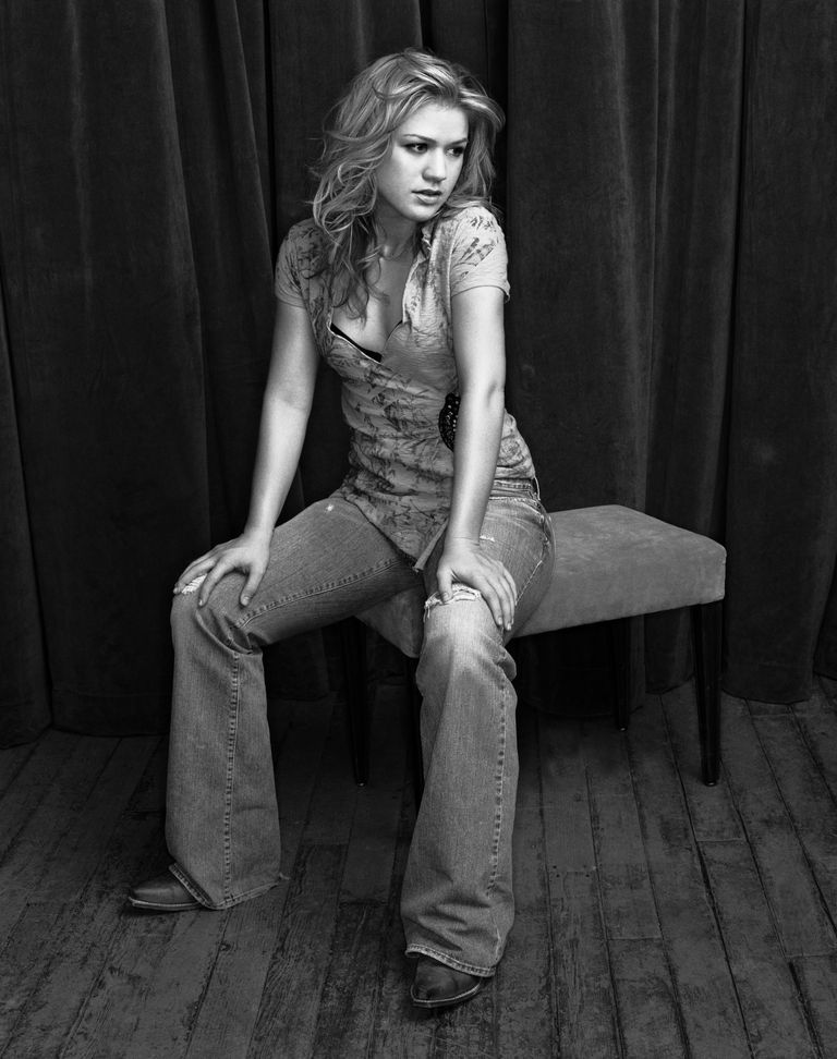 Келли Кларксон в фотосессии Ника Ручела для журнала Entertainment Weekly