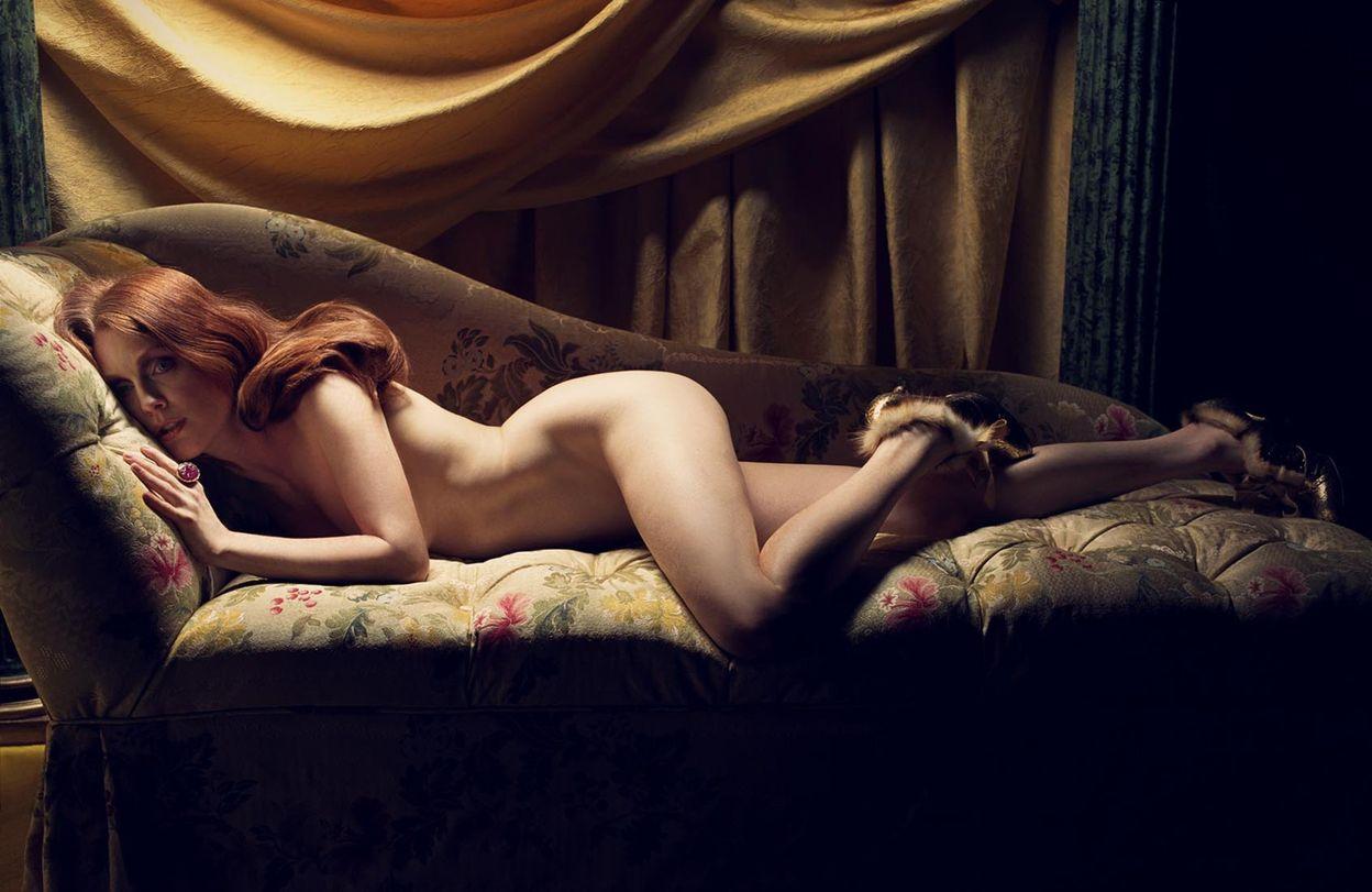 Джулианна Мур в фотосессии Майкла Томпсона для журнала Vanity Fair