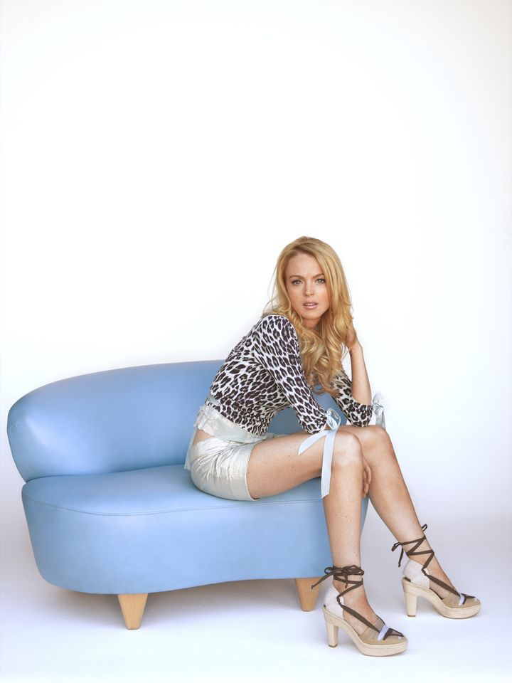 Линдси Лохан в фотосессии Джорджа Ланжа для журнала USA Weekend