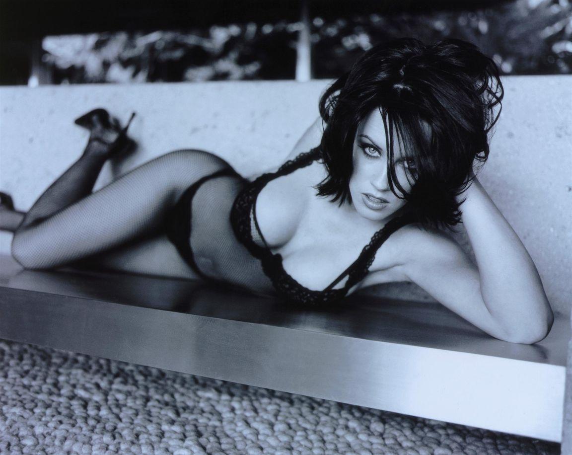 Дженни Маккарти в фотосессии для журнала Maxim
