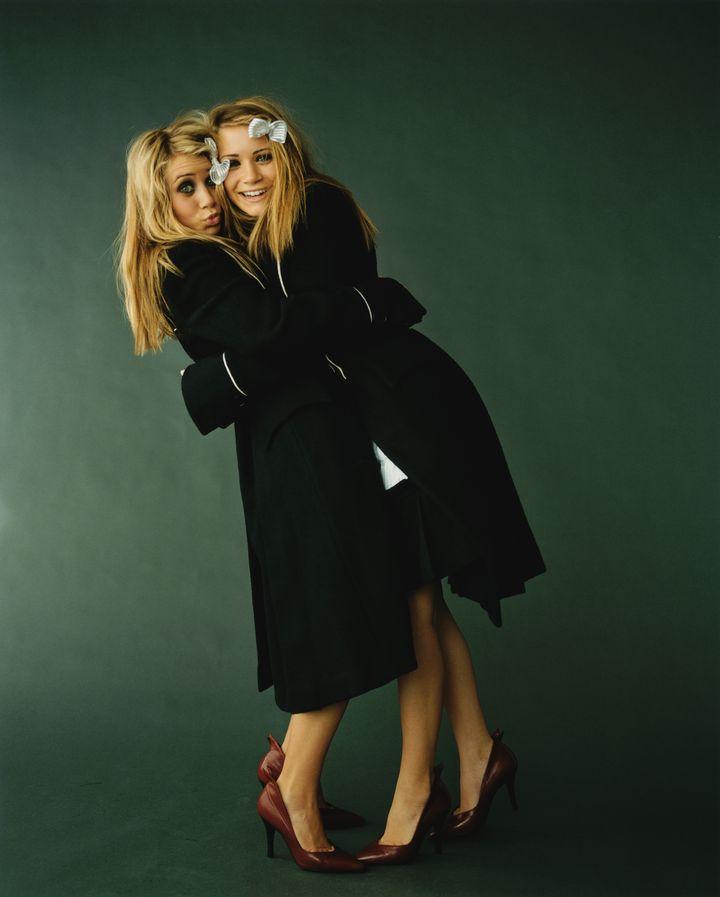 Мэри-Кейт Олсен и Эшли Олсен в фотосессии Пегги Сирота