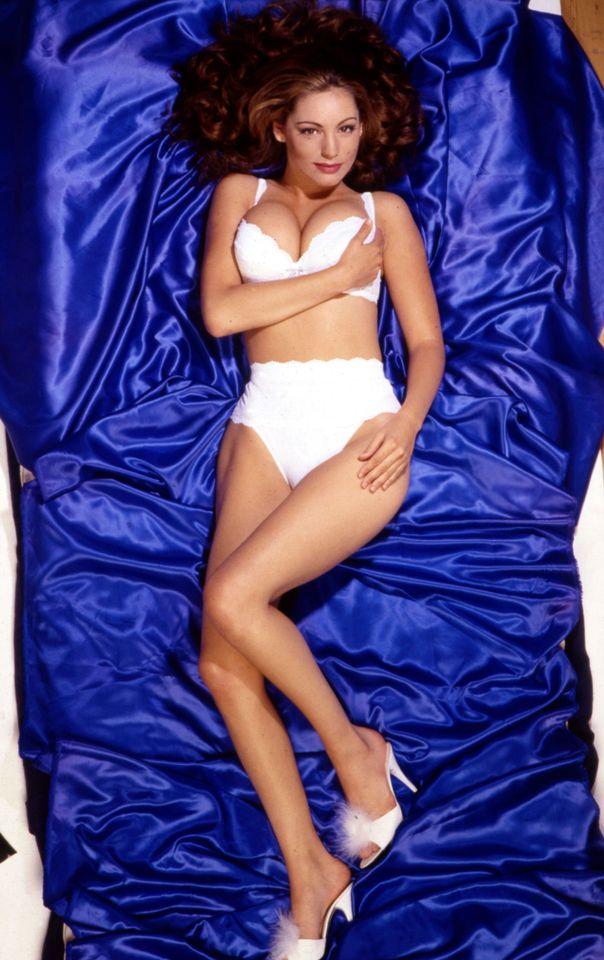Келли Брук в фотосессии Майка Приора