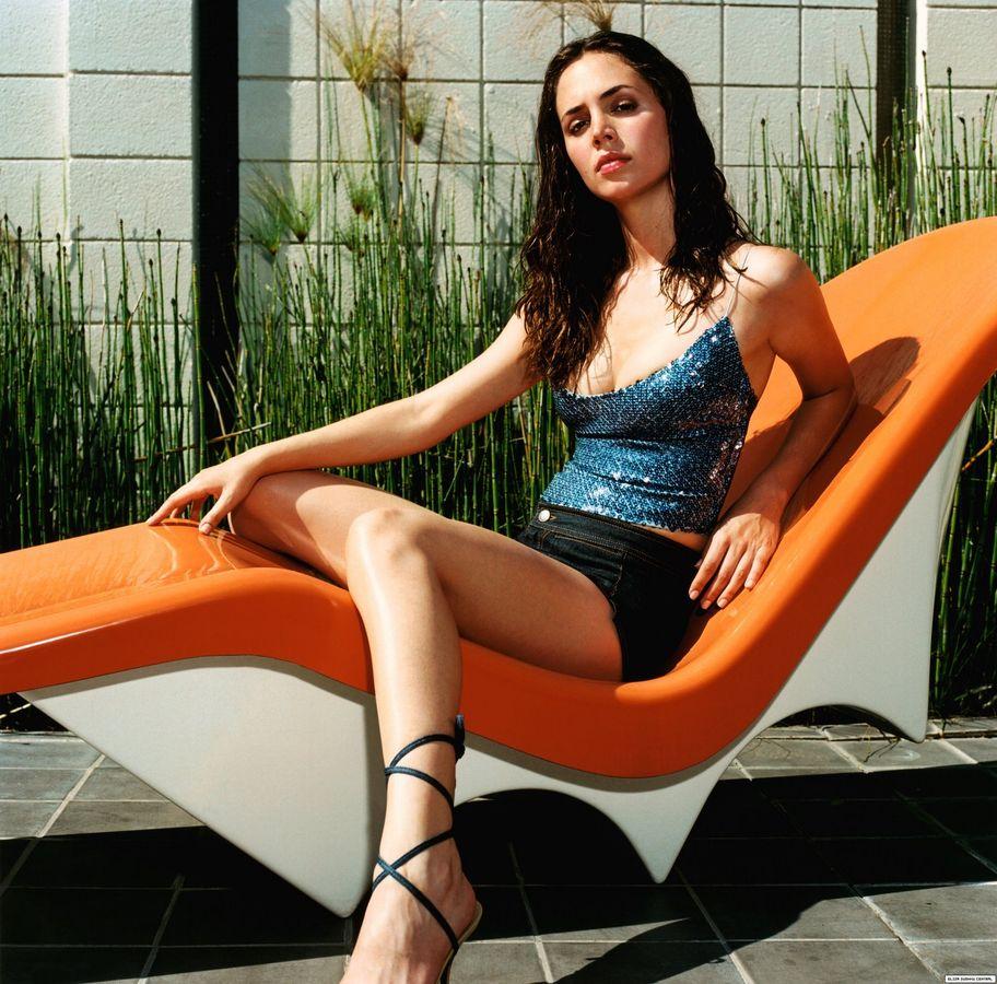 Элиза Душку в 2000 году в фотосессии Марка Батиста