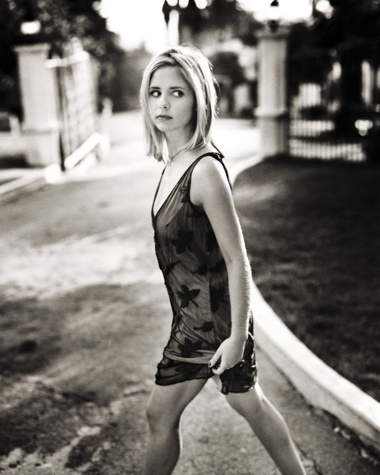 Сара Мишель Геллар в фотосессии Марка Селиджера