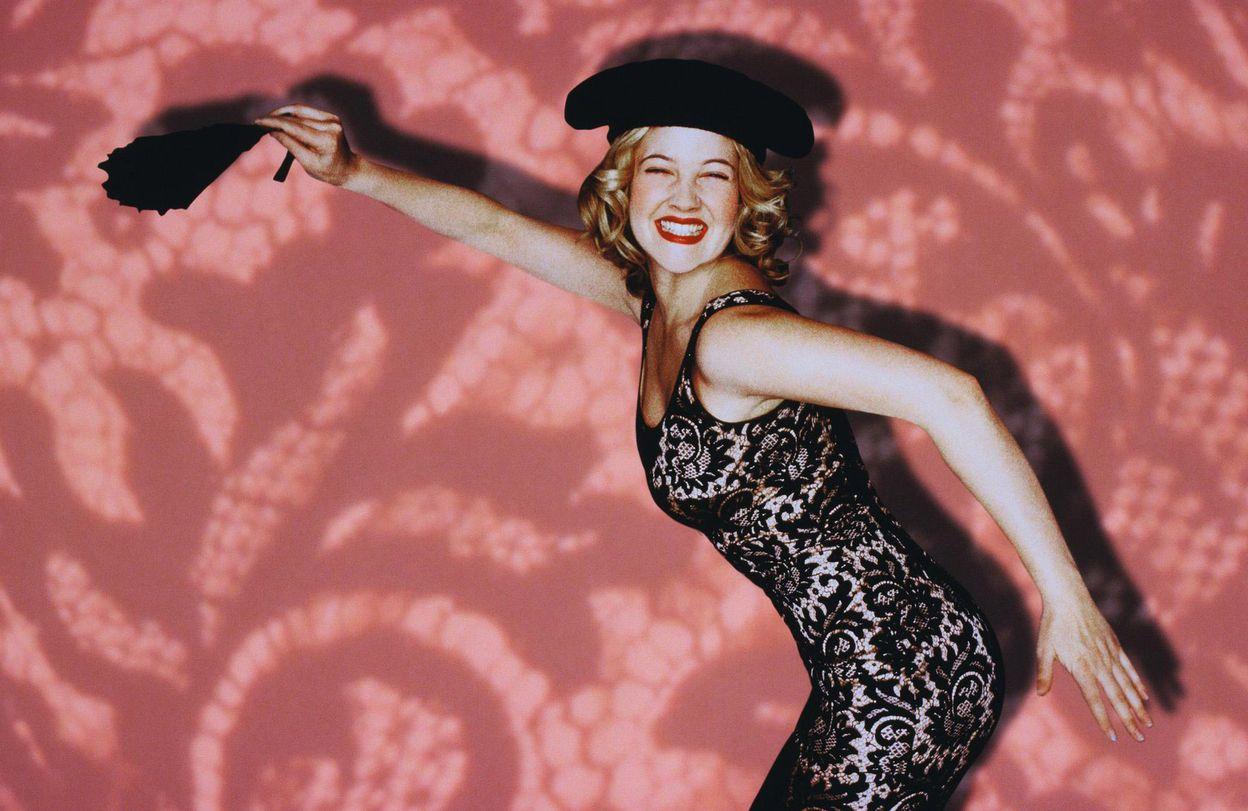 Дрю Бэрримор в фотосессии Мэри Эллен Мэттьюс для программы Saturday Night Live