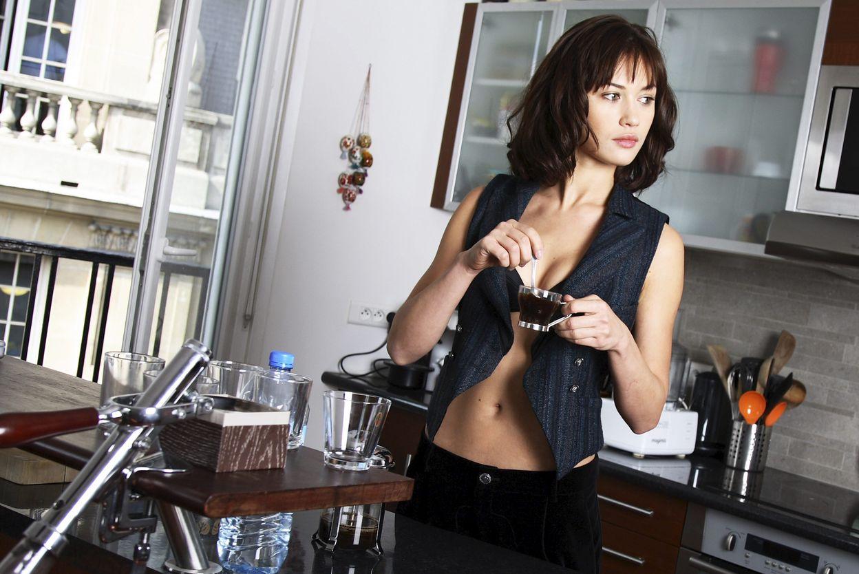 Ольга Куриленко в фотосессии Карин Белуаар