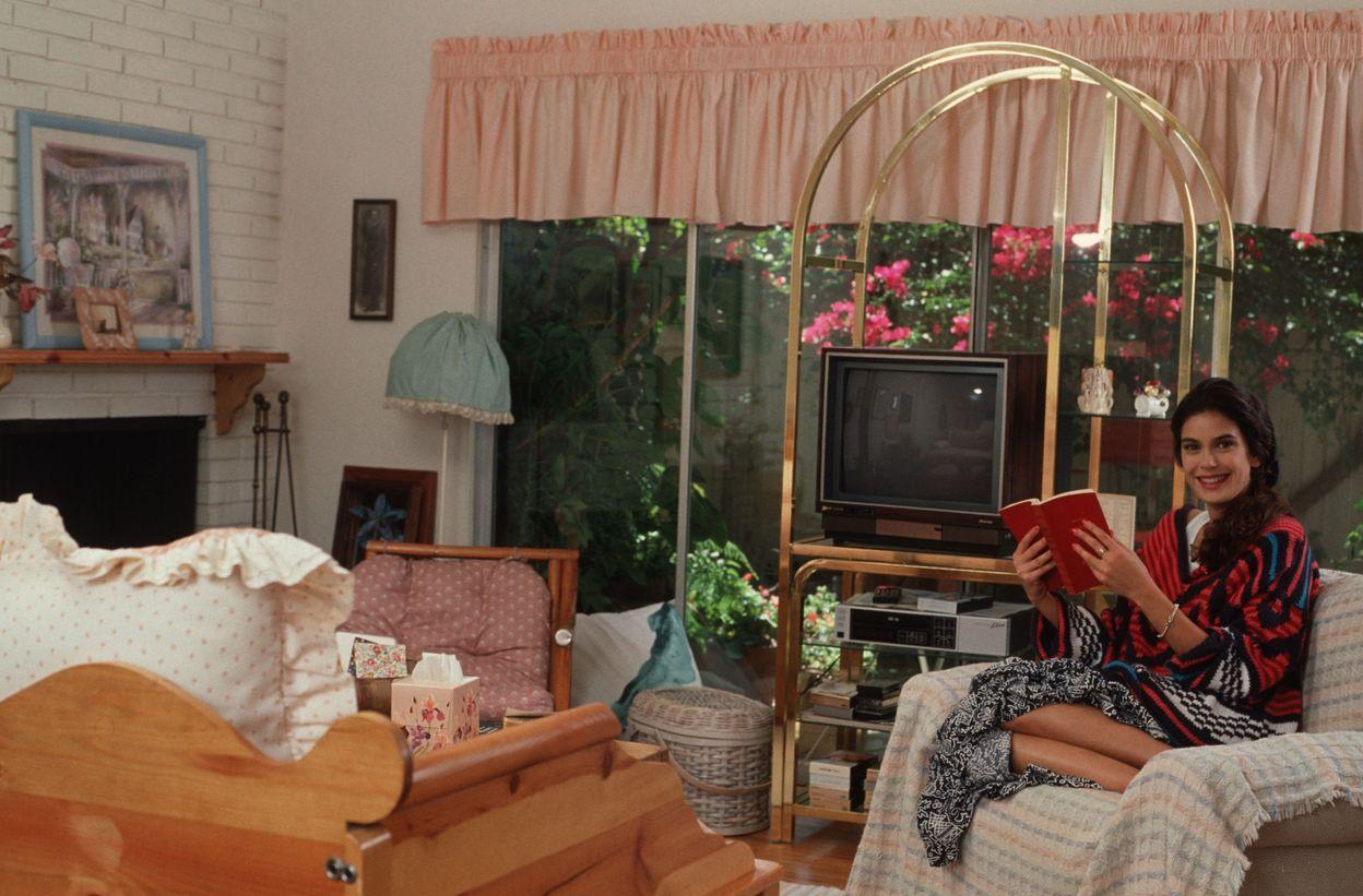 Тери Хэтчер в фотосессии Дэна Голдена