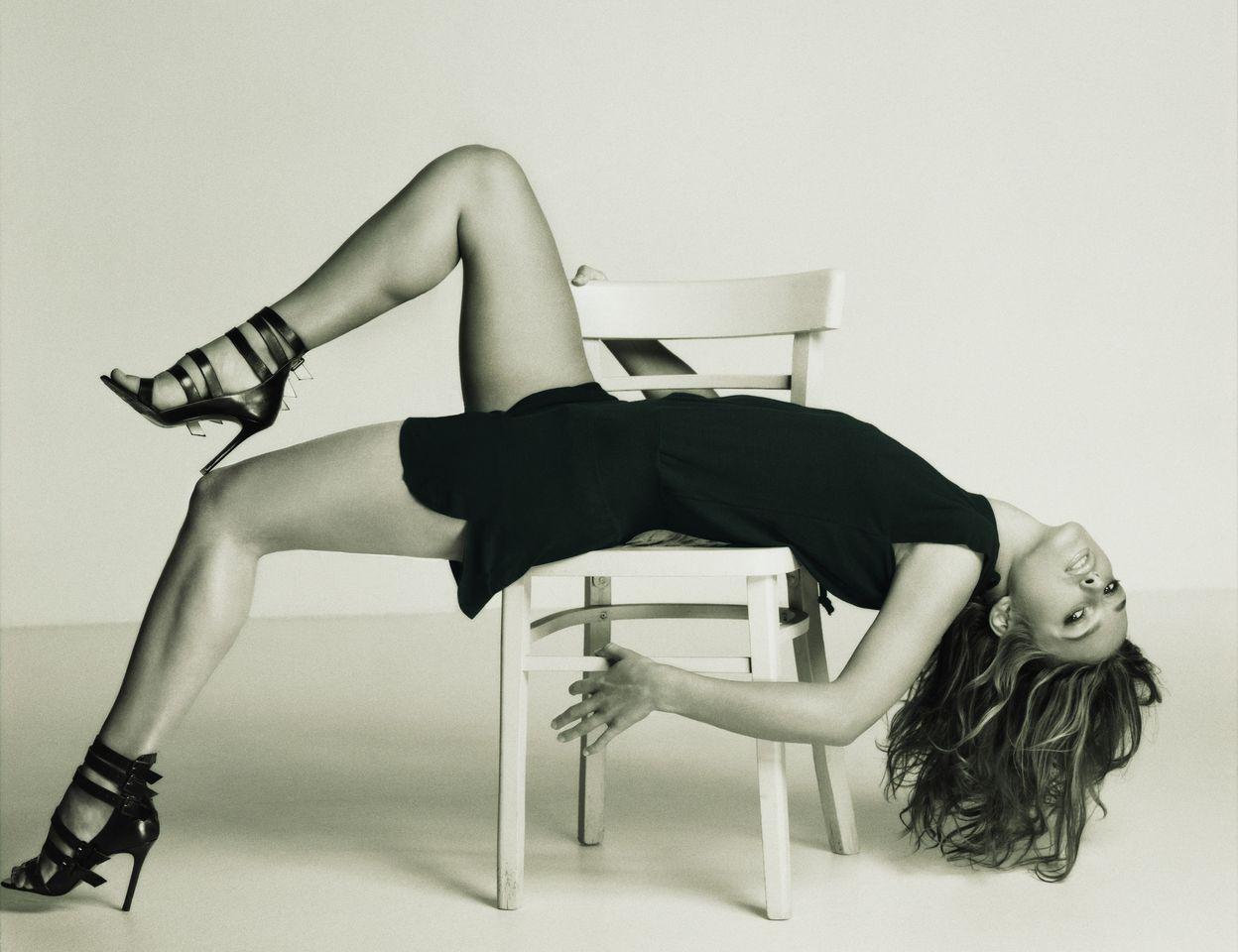 Кира Найтли в фотосессии Кеннета Вилларда для журнала GQ