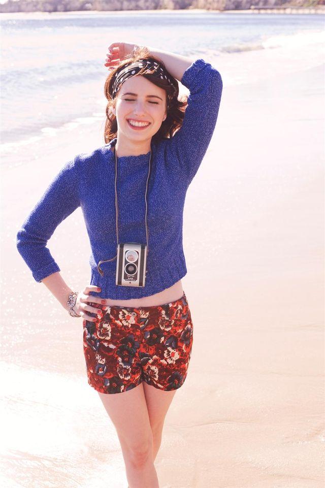 Эмма Робертс в фотосессии Картера Смита для журнала Teen Vogue