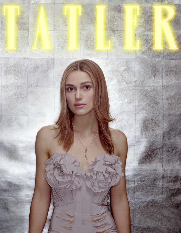 Кира Найтли в фотосессии Дональда Макферсона для журнала Tatler