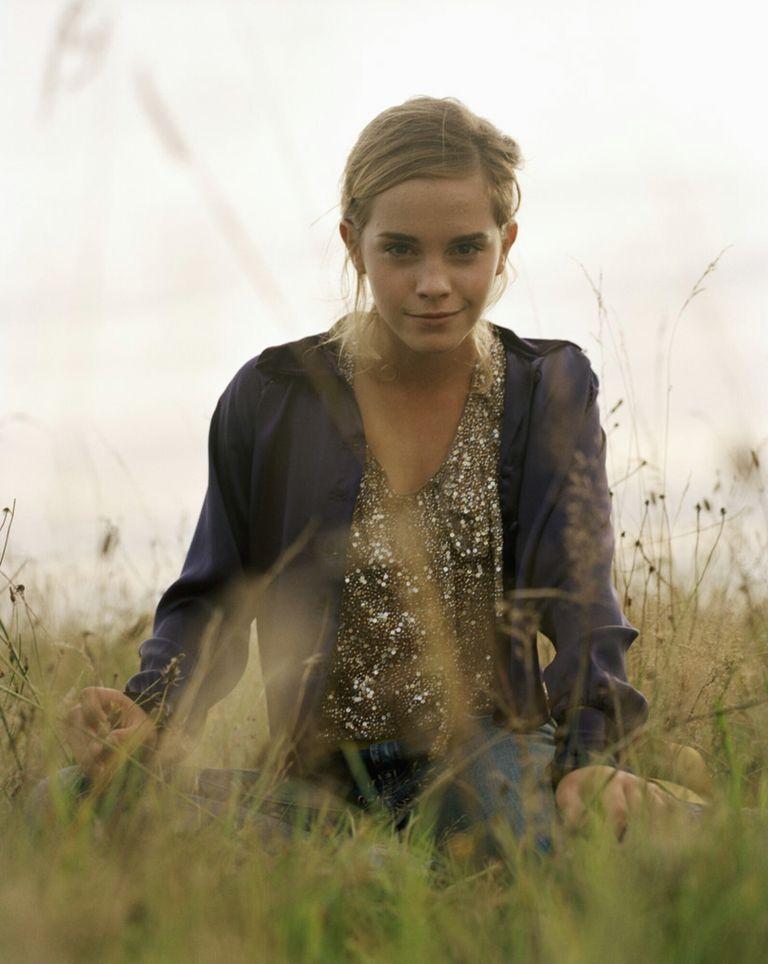 Эмма Уотсон в фотосессии Джейсона Джойса для журнала Girl`s Life