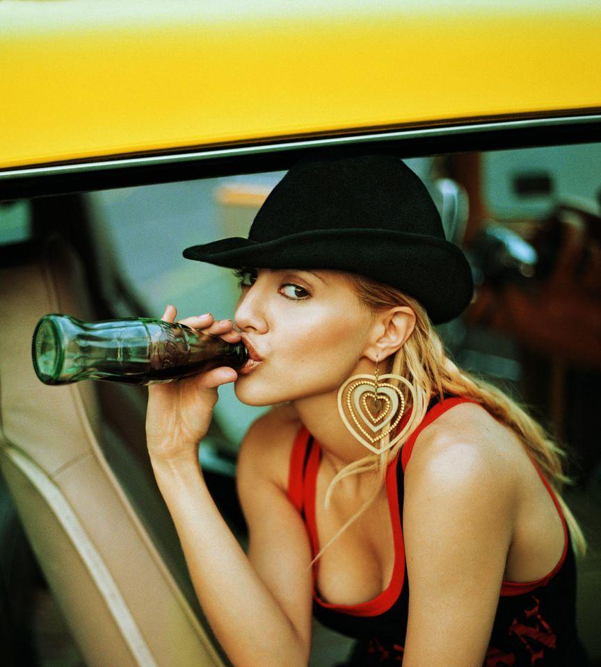 Бриттани Мерфи в фотосессии Джорджа Хольца для журнала New York