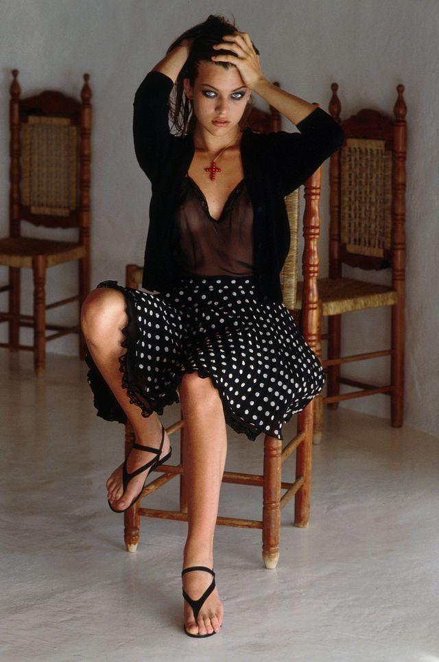 Милла Йовович в фотосессии Каллиопы Грегореа