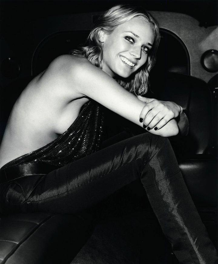 Диана Крюгер в 2000 году в фотосессии Сержа Барбо