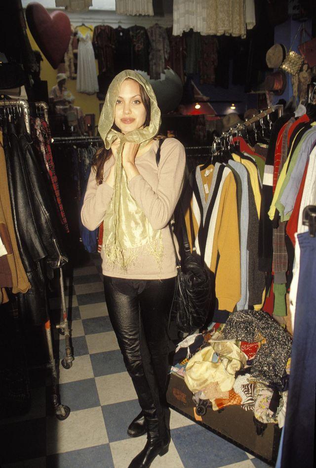 Анджелина Джоли в фотосессии Мишеля Буркара