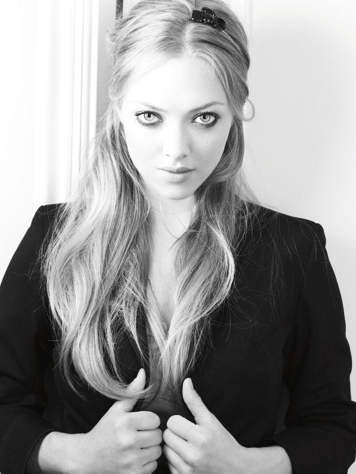 Аманда Сейфрид в фотосессии Ондреа Барба для журнала Entertainment Weekly