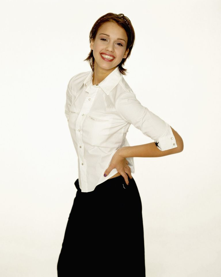 Джессика Альба в фотосессии Дэвида Голдмана для журнала Jump