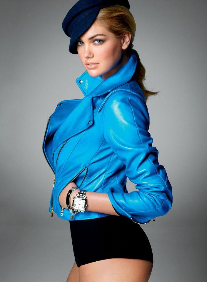 Кейт Аптон в фотосессии Стивена Майзела для журнала Vogue