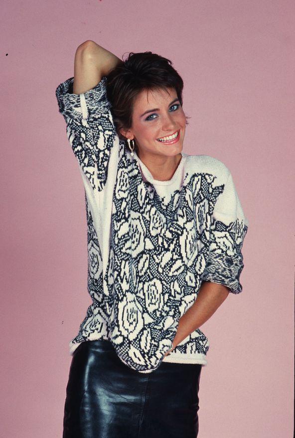 Кортни Кокс в 1985 году в фотосессии Дианы Линн