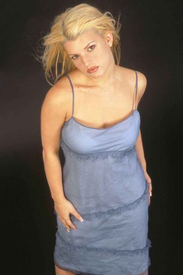 Джессика Симпсон в фотосессии Энтони Кутаяра