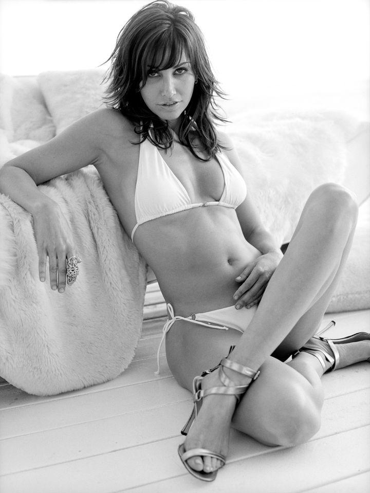 Джина Гершон в фотосессии Антуана Вергла