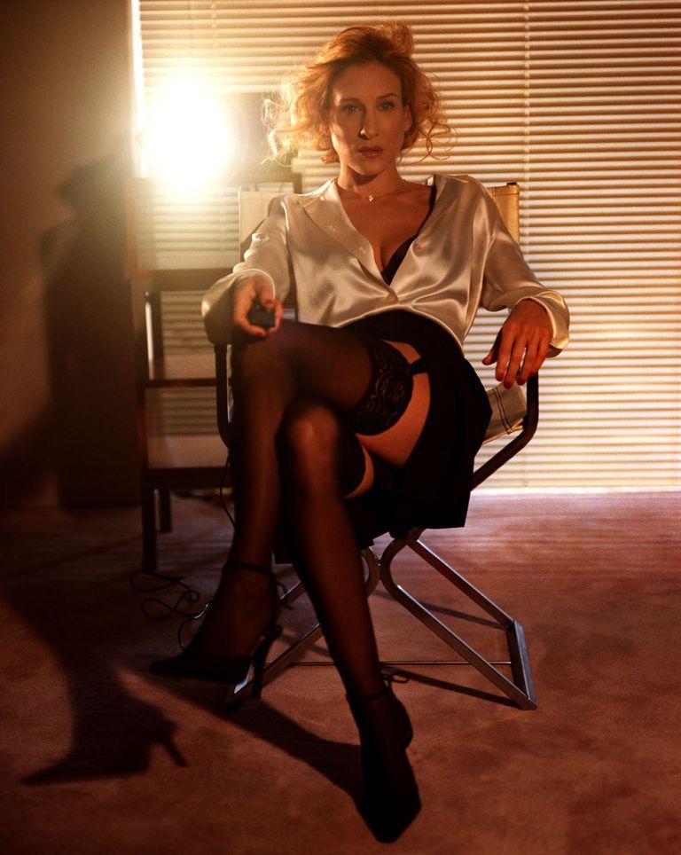Сара Джессика Паркер в фотосессии Майкла Томпсона для журнала Allure