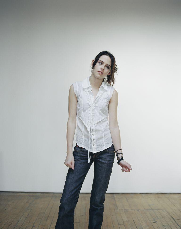 Кристен Стюарт в фотосессии Бриджитт Сайр